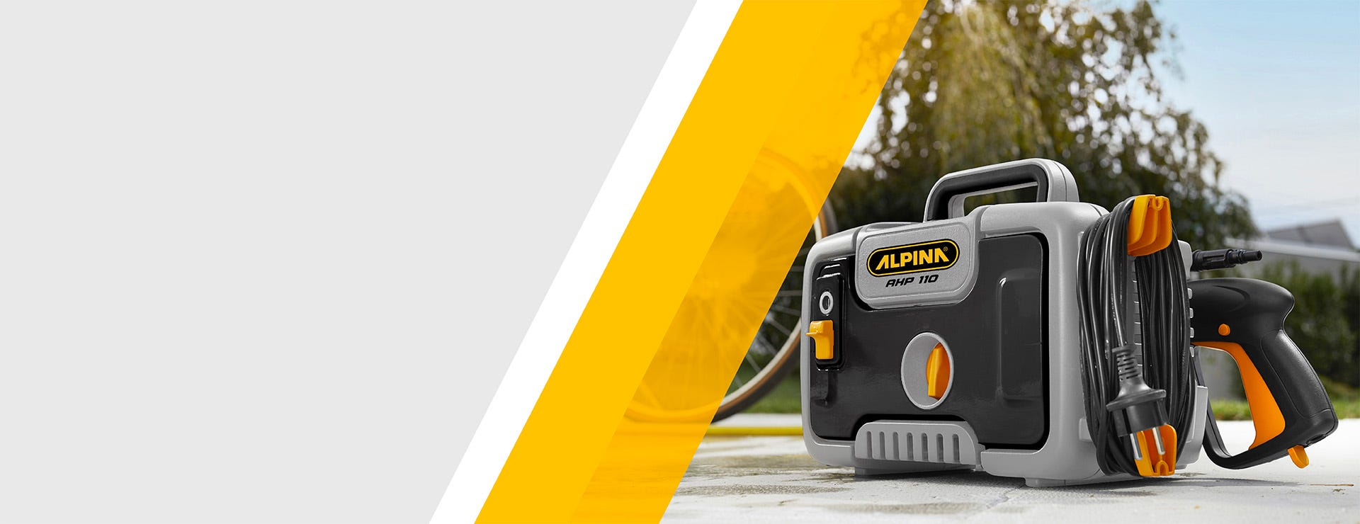 Alpina high pressure cleaner
